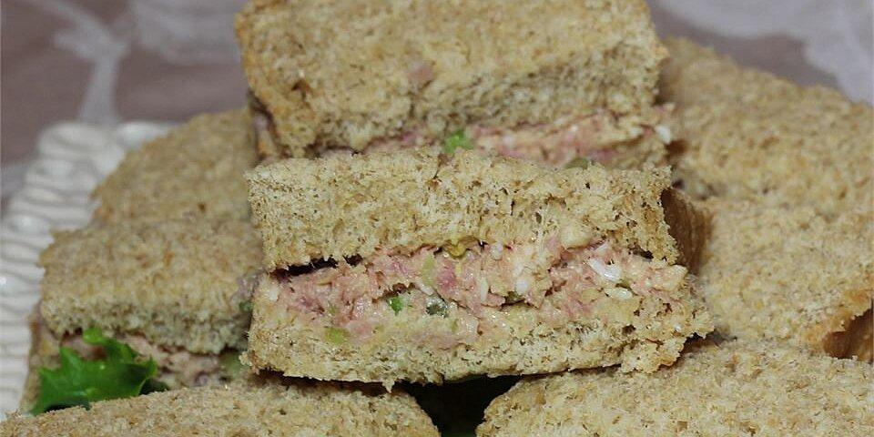 ham and egg salad sandwich spread recipe