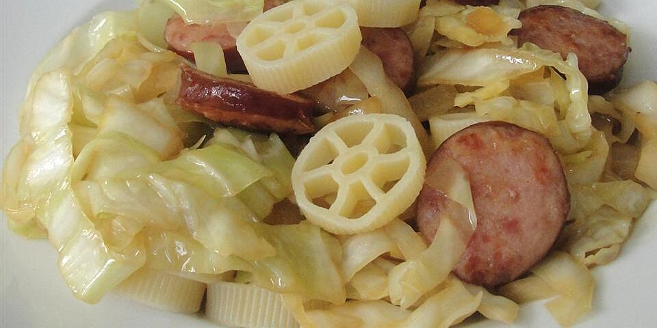 grandmothers polish cabbage and noodles recipe