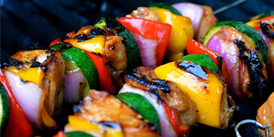 Yummy Honey Chicken Kabobs Recipe Allrecipes