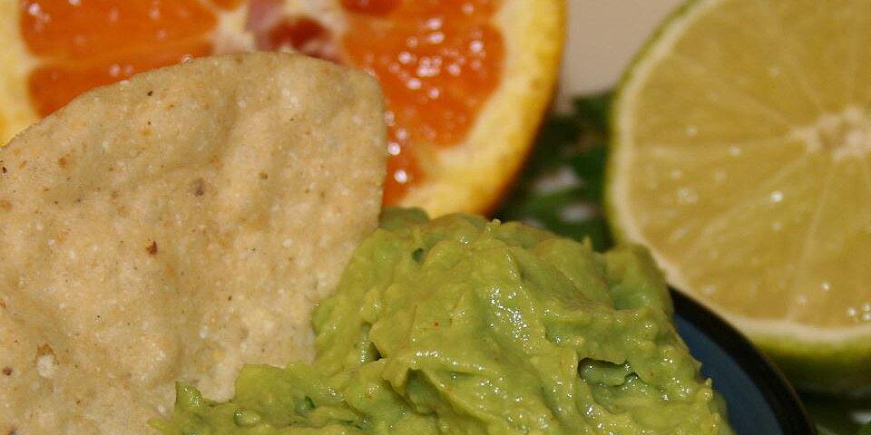 citrus infused guacamole recipe