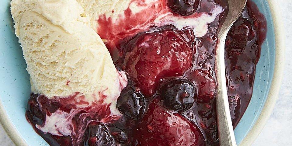 warm berry compote recipe