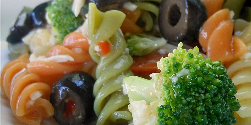 rainbow pasta salad i recipe