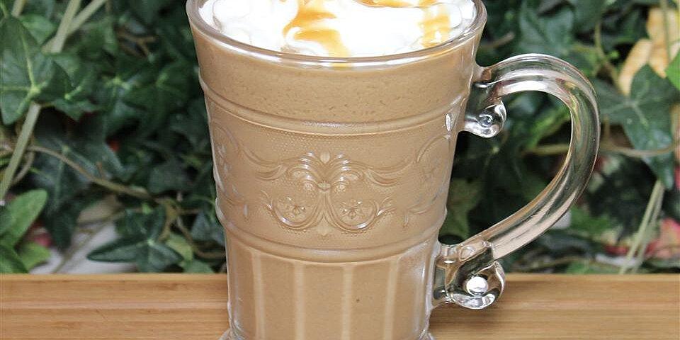 chocolate peanut butter iced coffee recipe