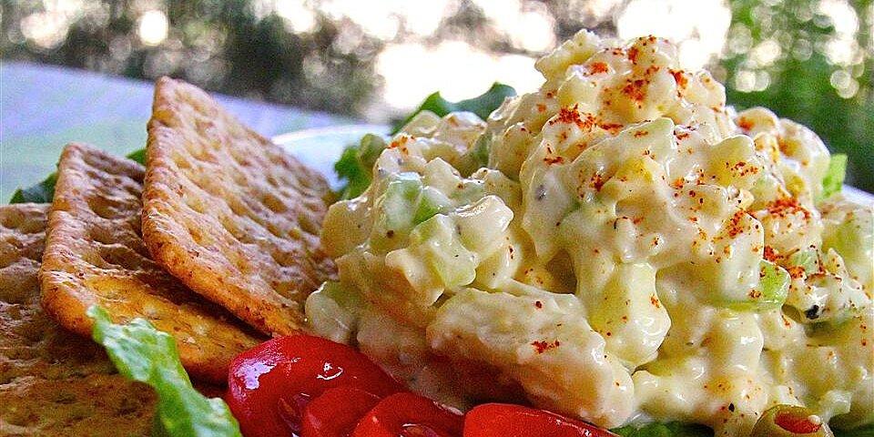 creamy cauliflower egg salad recipe