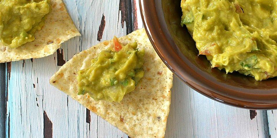 delicious non traditional guacamole recipe