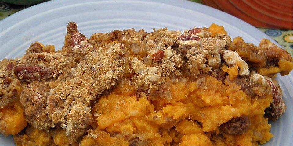 sweet potato crisp recipe