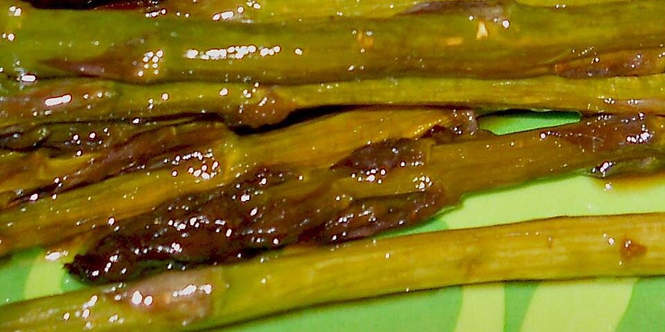 asian inspired grilled asparagus recipe