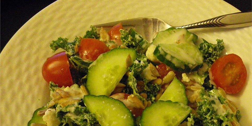 greek kale tomato salad recipe