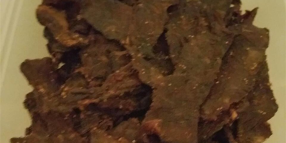 mikes peppered beef jerky recipe