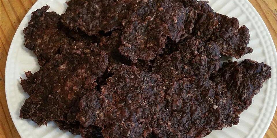 ground beef jerky recipe