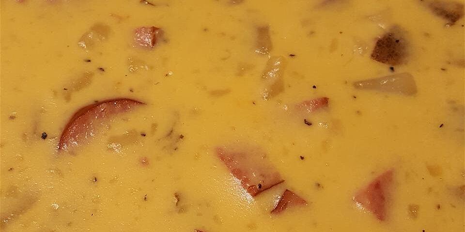 smoky potato cheese soup recipe