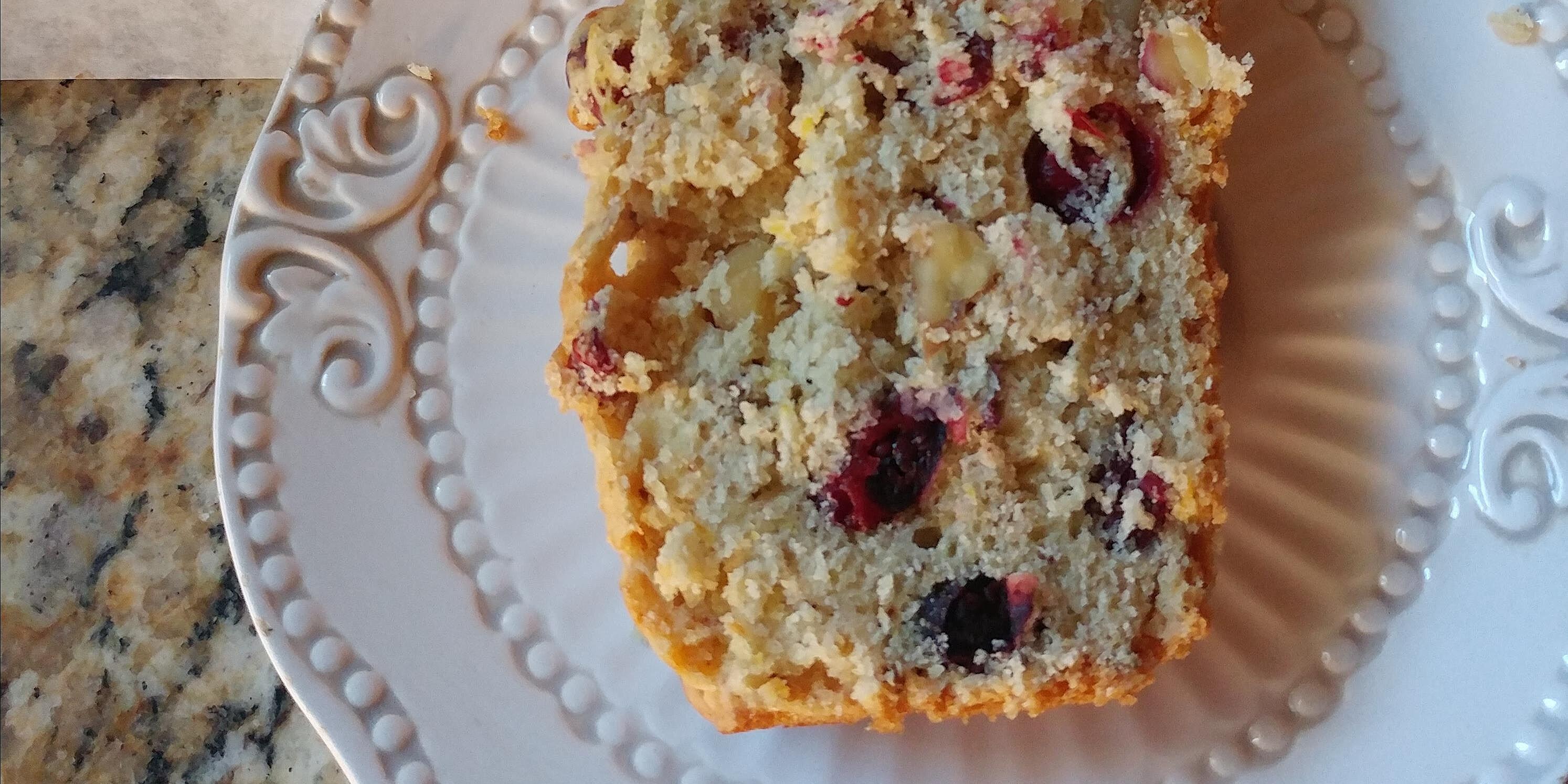 cranberry orange nut bread recipe