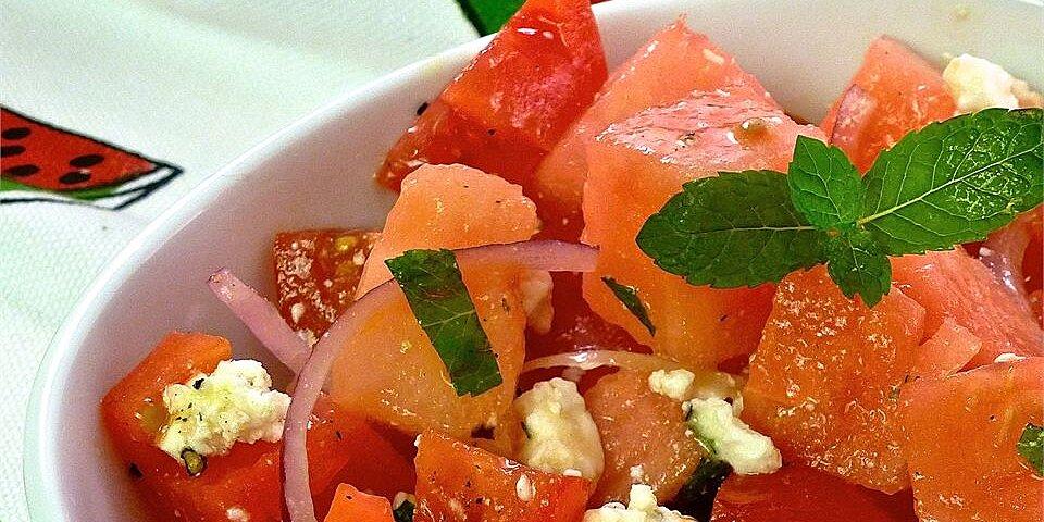tomato watermelon salad recipe
