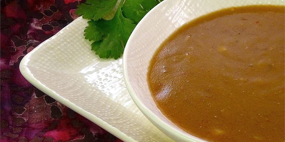 the best thai curry peanut sauce recipe