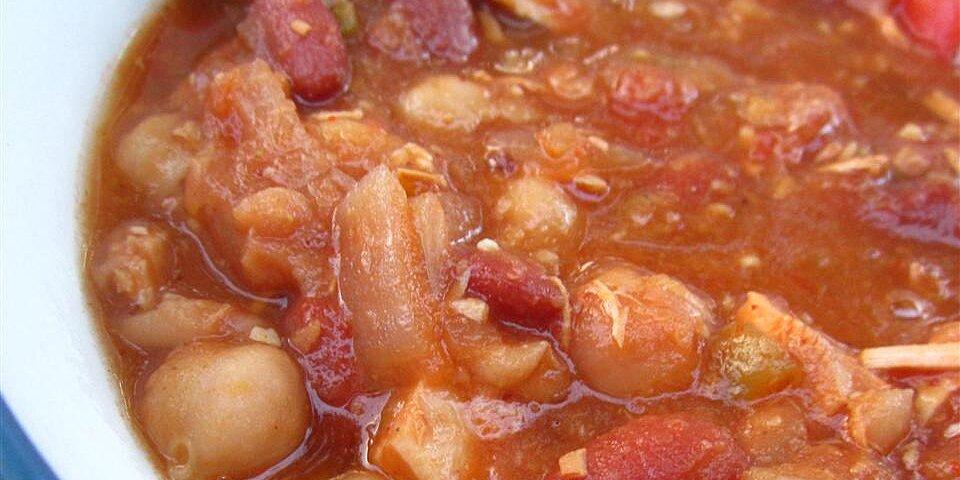jills vegetable chili recipe