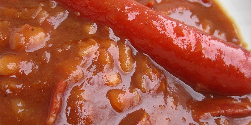 slow cooked baked beans recipe