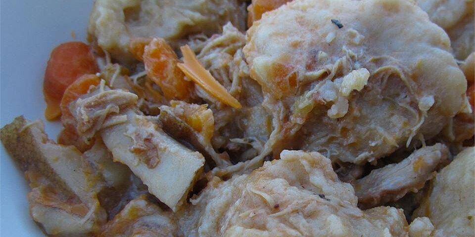 chicken and dumplings ii recipe