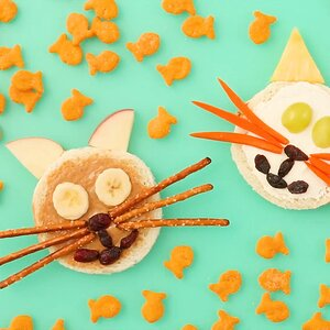 After-School Kitty Cat Sandwiches