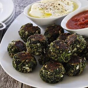 Delicious Herbed Spinach and Kale Balls