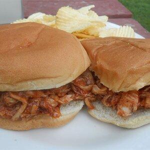 BBQ Chicken Sandwiches