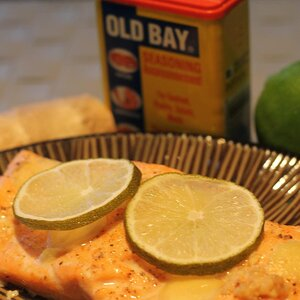 Ginger and Lime Salmon