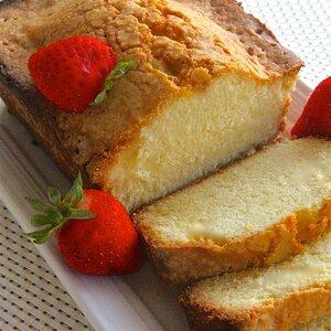 Crusty Loaf Cake