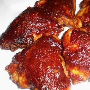 Sweet 'n' Spicy Baked Chicken