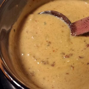 Chipotle Chile and Blue Cheese Sauce