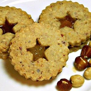 Lemon-Marmalade Cookie Sandwiches