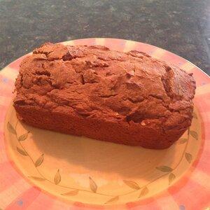 Low-Fat Pumpkin Chocolate Chip Bread