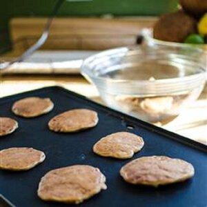 Cheesy Wheat Pancakes