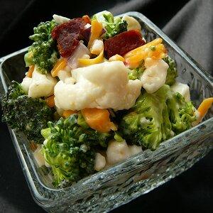 Bop's Broccoli Cauliflower Salad