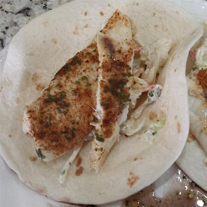 Broiled Tilapia Fish Tacos with Cilantro-Lime Slaw