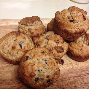 Gluten-Free Cranberry Walnut Muffins