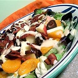Fruit and Bacon Salad