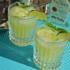 Basil-Cucumber Mojito