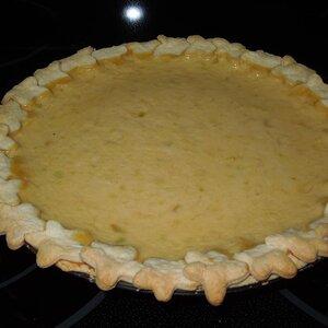 Zucchini Cream Pie