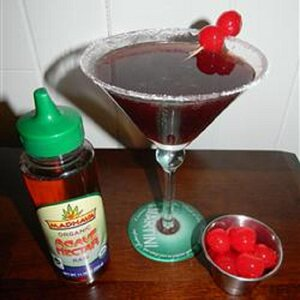 Kirstin's Favorite Black Cherry Martini