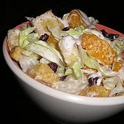 Creamy Mandarin Orange Salad