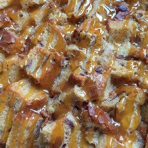 Maple Caramel Bread Pudding