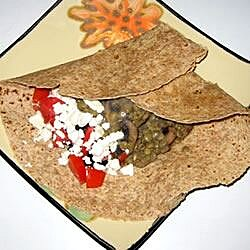 Easy Lentil Feta Wraps