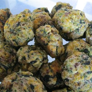 Sausage Balls with Spinach