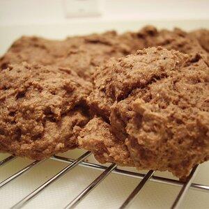 Applesauce Cocoa Cookies