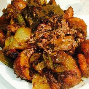 Dan's Fallin' Apart Pork Pot Roast with Cracked Pepper Gravy