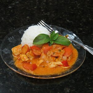 Maple Chicken Curry