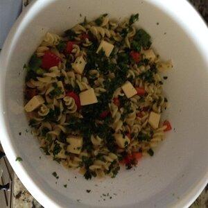 Smoky Pasta Primavera Salad