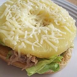 Hawaiian Tuna Sandwich