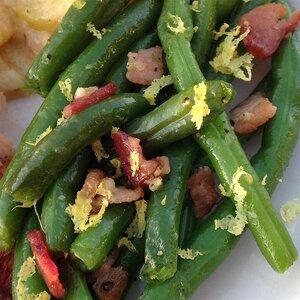 Bacon-Garlic Green Beans