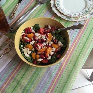 Strawberry Spinach Salad III