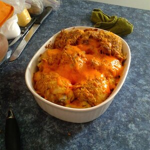 Cheesy Chicken Casserole with Vegetables